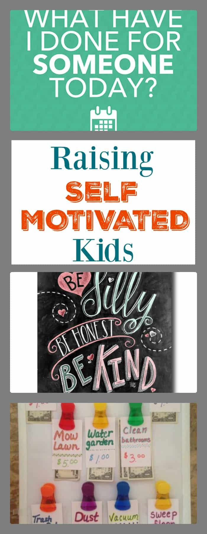 Parenting ideas- raising self motivated kids
