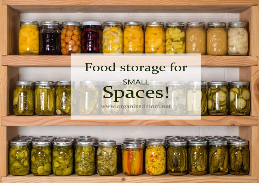 5 New Ideas for Storing Food in Small Places