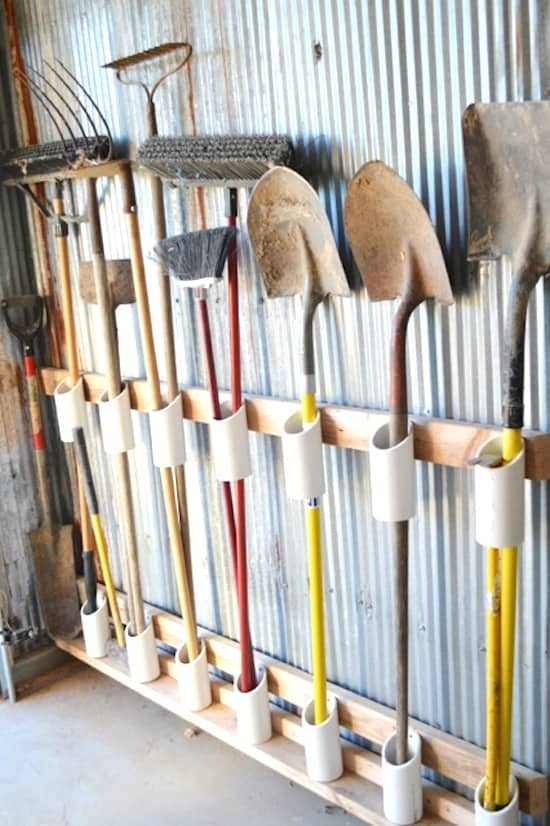 Organize Your Garage With DIY Wall Solutions