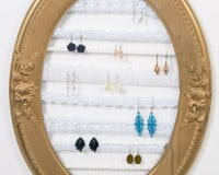 DIY Earring Organization