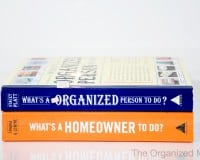 Organization and Homeowner Artisan Books Review
