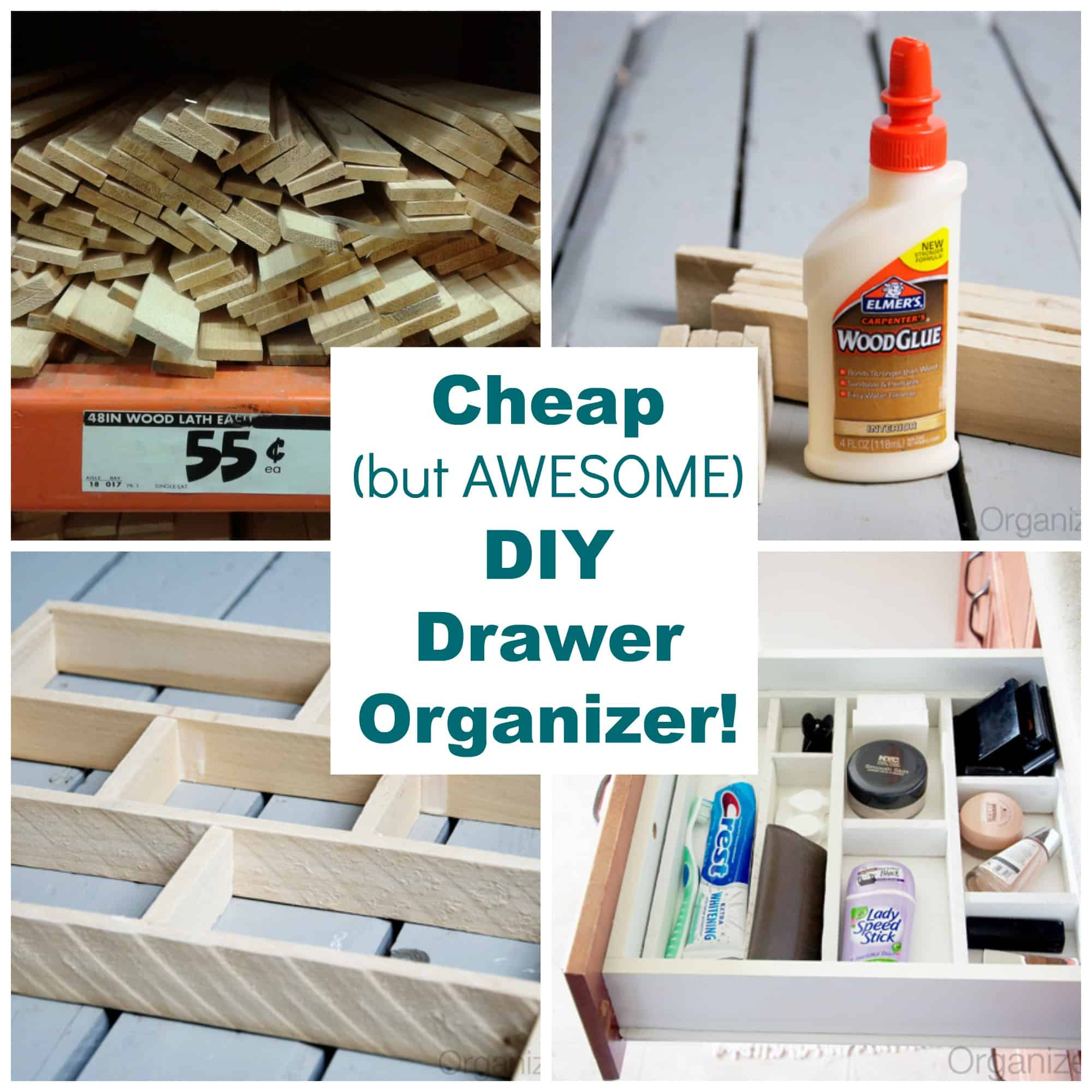 Drawer Organizer Diy Organization Project The