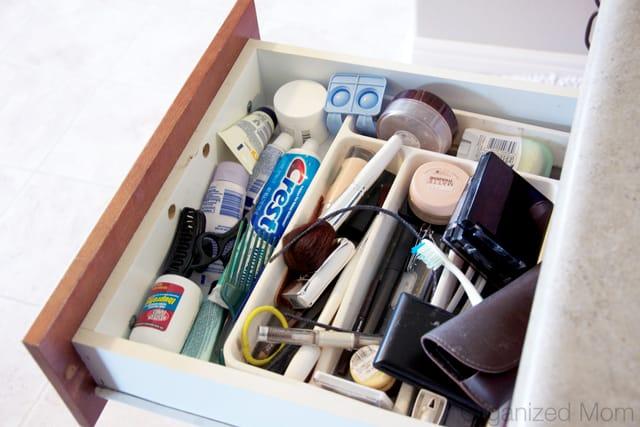 DIY drawer organizer - Home organization