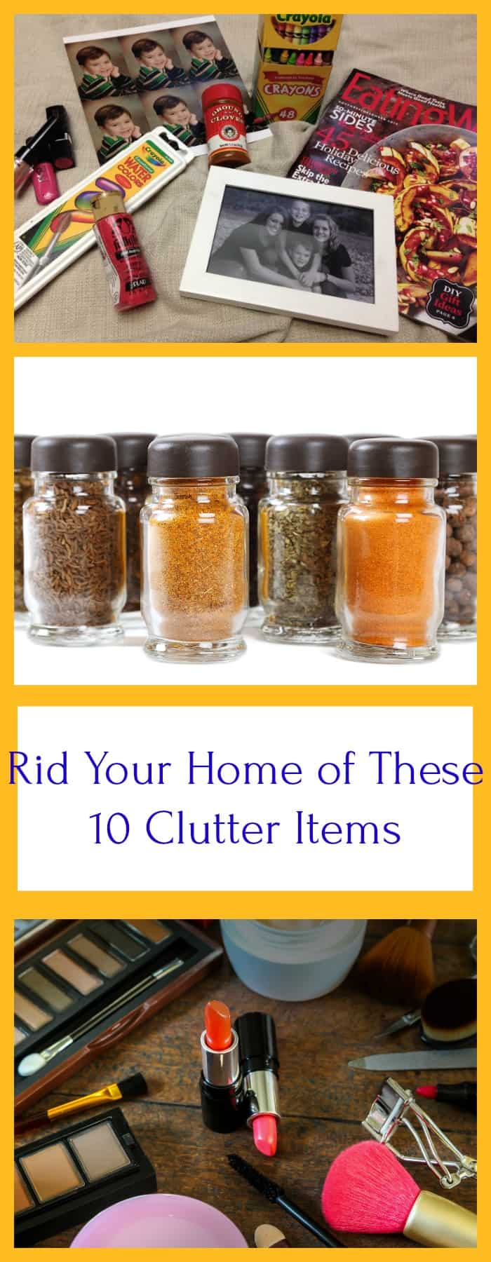 clutter items