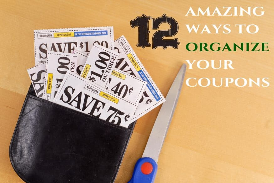 12 amazing ways to organize your coupons