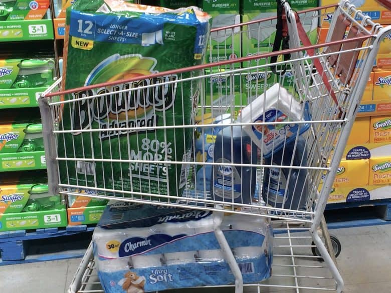 P&G Household Needs Products from Costco make my life easier!
