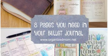 8 pages you need in your bullet journal