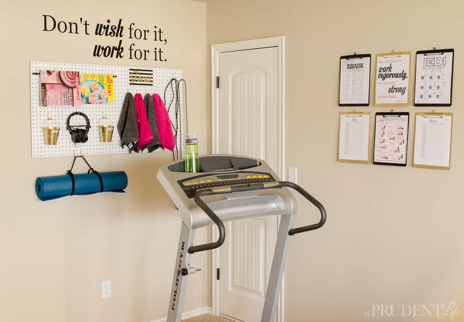 Get inspired to work out with these extremely organized