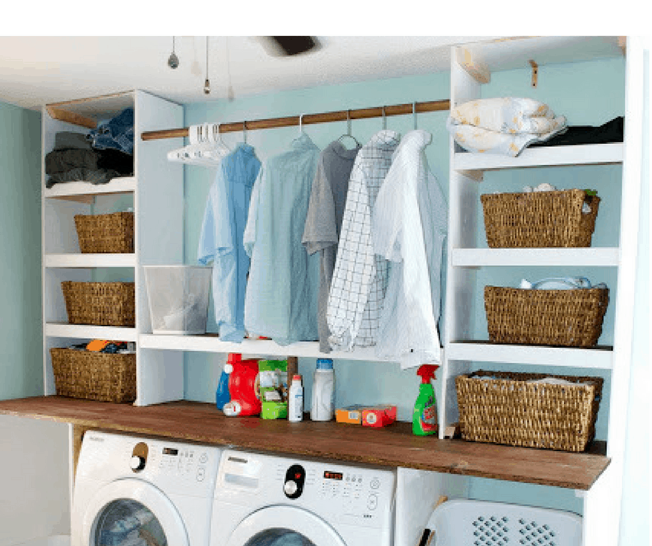 15 Laundry Room Organization Hacks