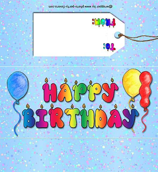 Candy Bar Birthday Wrapper Round Up!