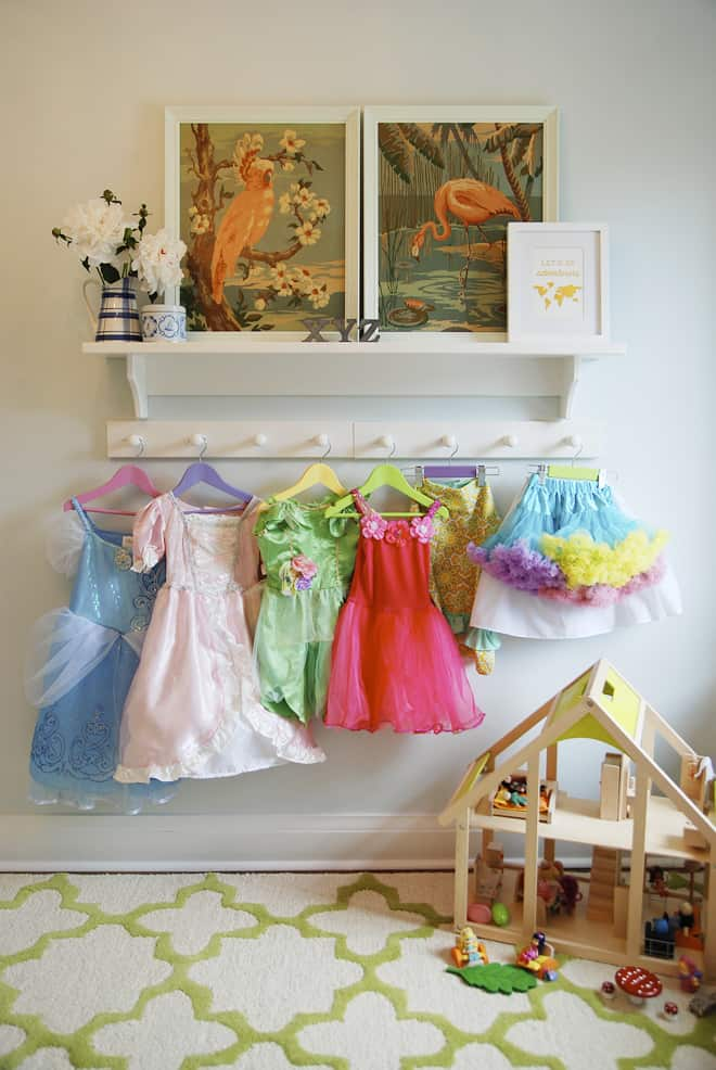 6 simple solutions for organizing dress up clothes the organized mom. Black Bedroom Furniture Sets. Home Design Ideas