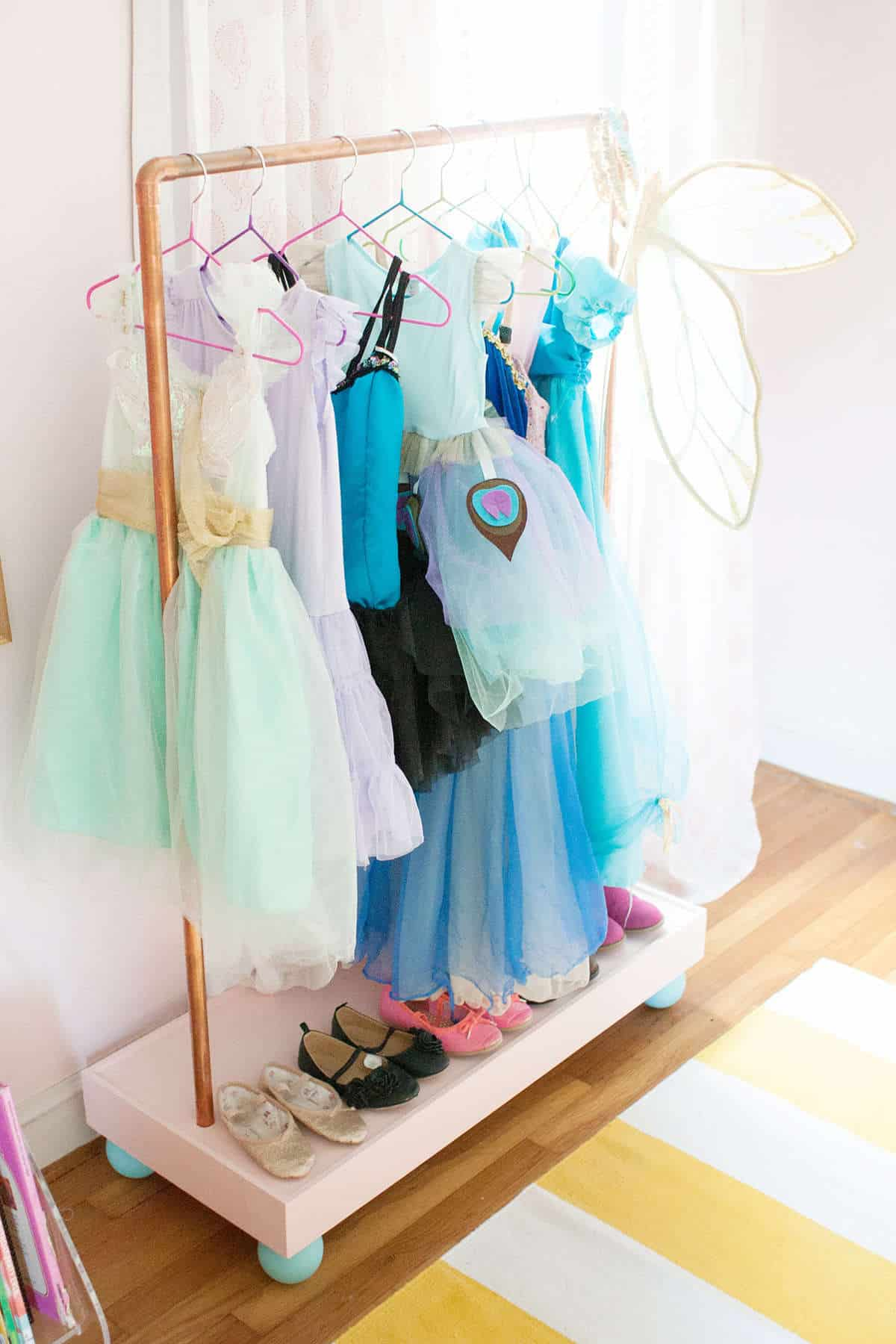6 Simple Solutions For Organizing Dress Up Clothes The