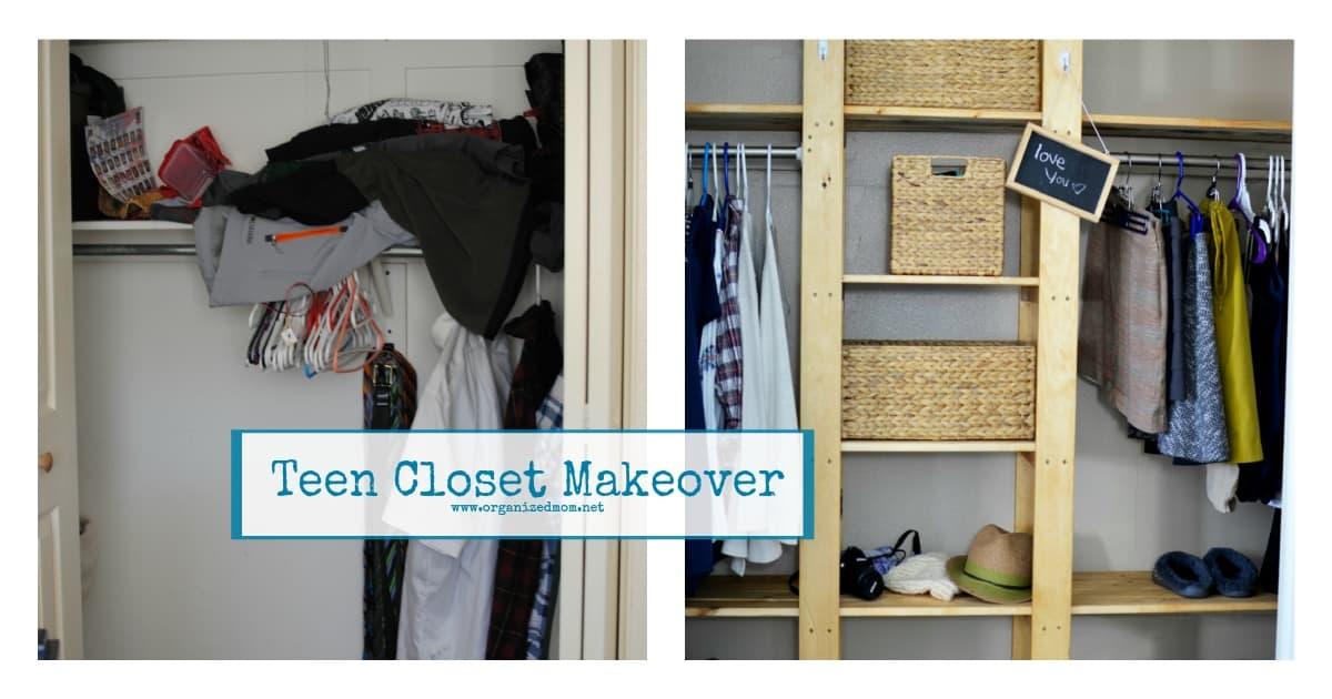 Teen Closet Makeover Fb