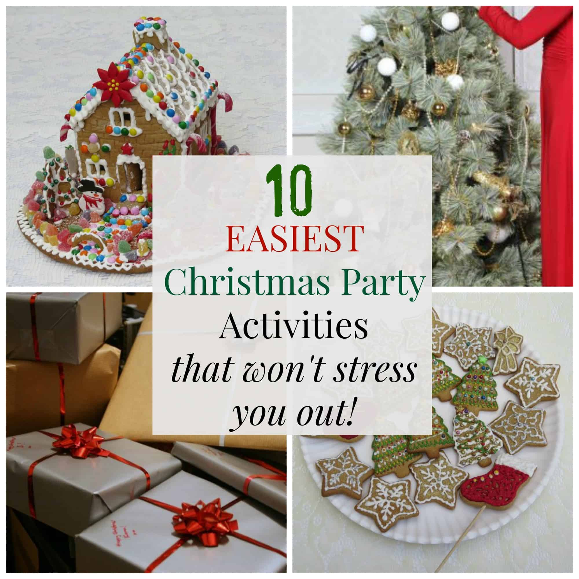 10 Easiest Christmas Party Activities That Won T Stress You