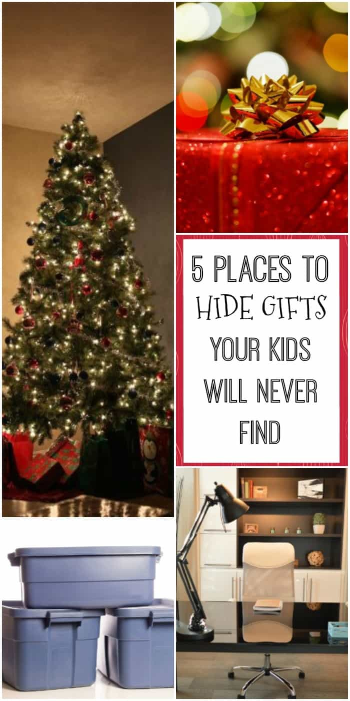 5 Places to Hide Christmas Presents Your Kids Will Never Find! - The ...