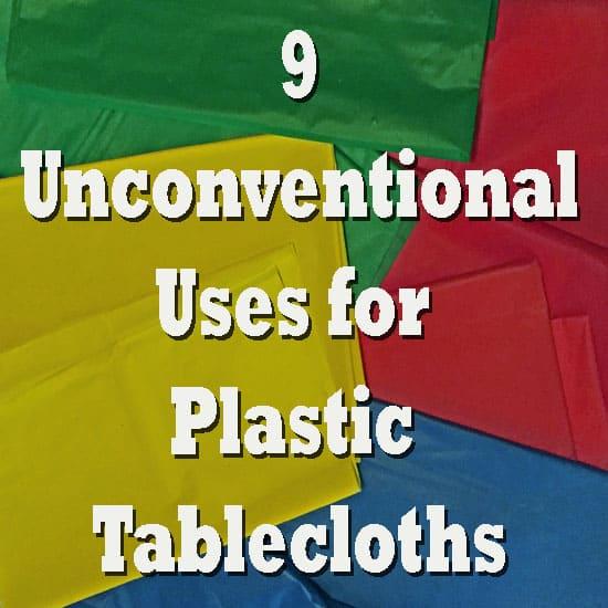 Wonderful Plastic Tablecloths