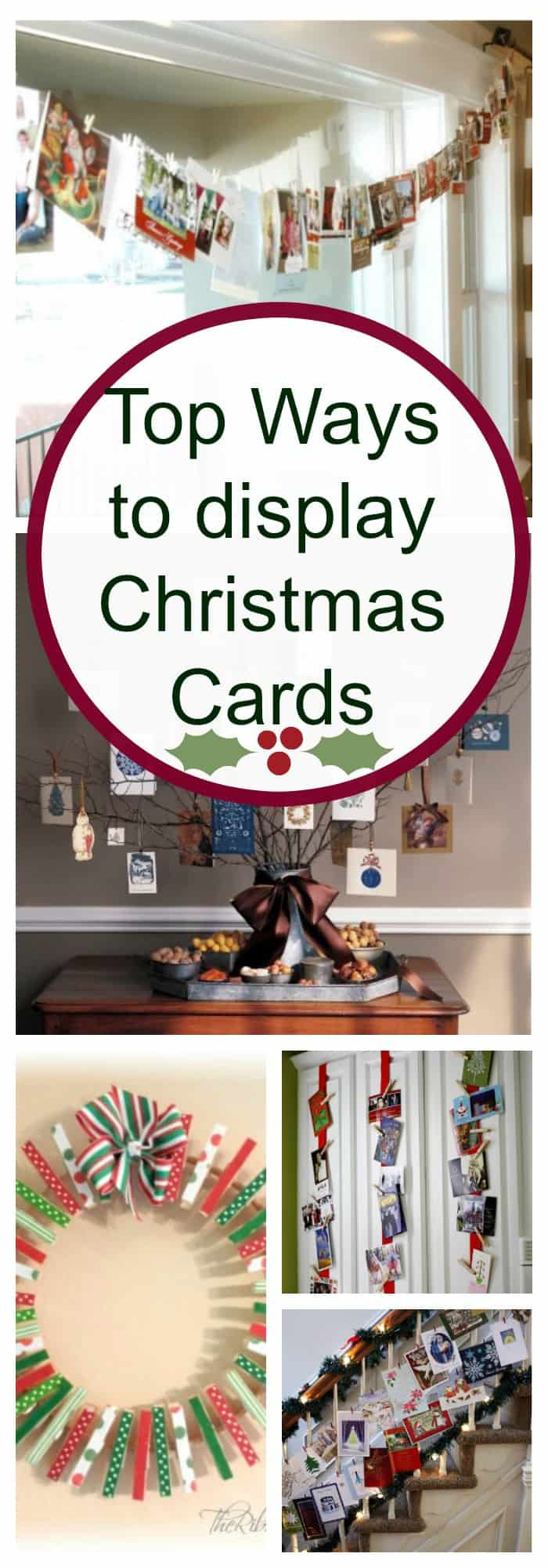 Ways To Read Tarot Cards: 5 Creative Ways To Display Christmas Cards With