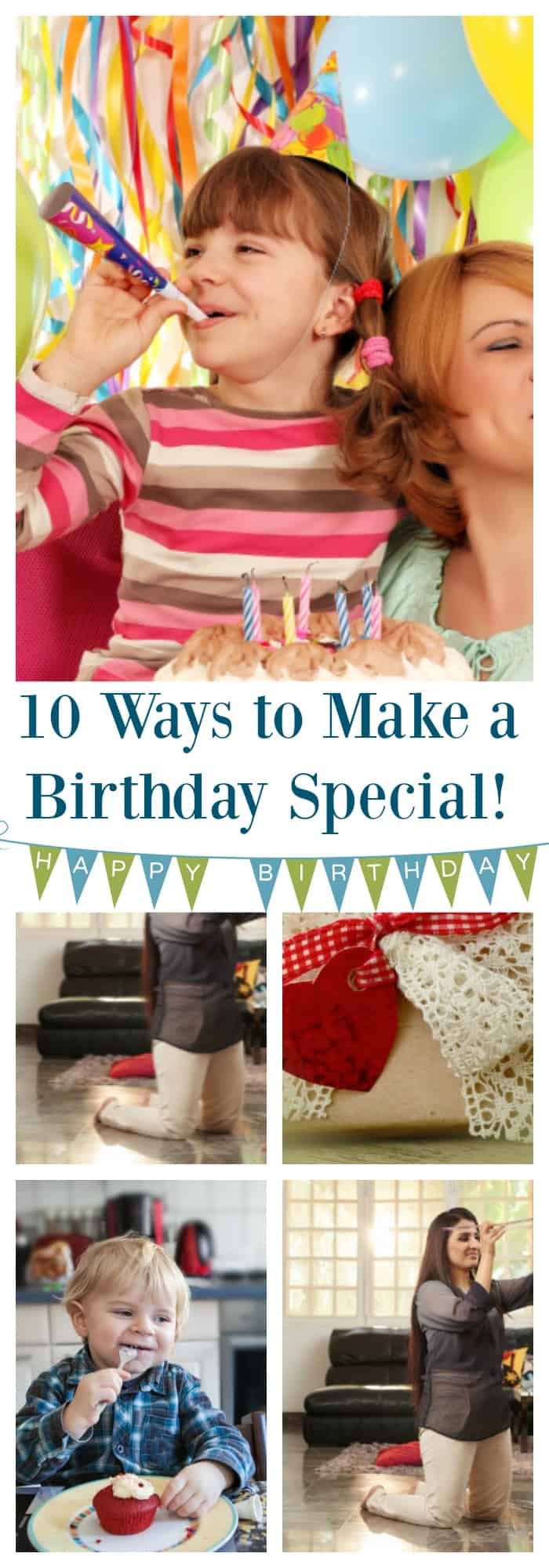 10 creative, clever and new ways to make a birthday special for your kid!