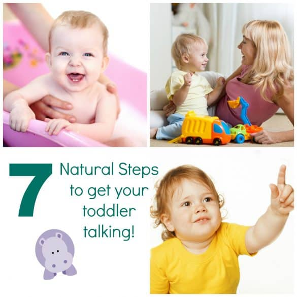 7 steps to encourage toddlers to talk