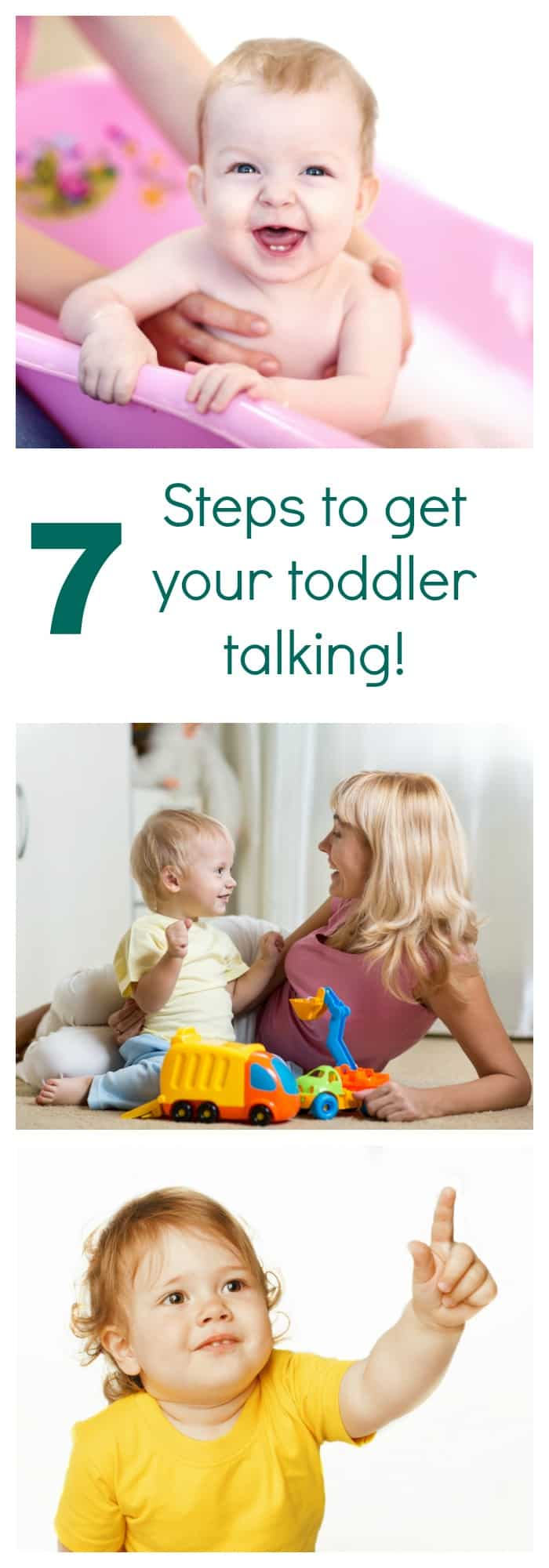 7 steps to encourage toddlers to speak