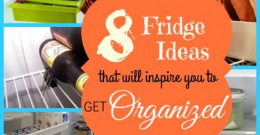 8 Fridge Ideas that Will Inspire You to Get Organized