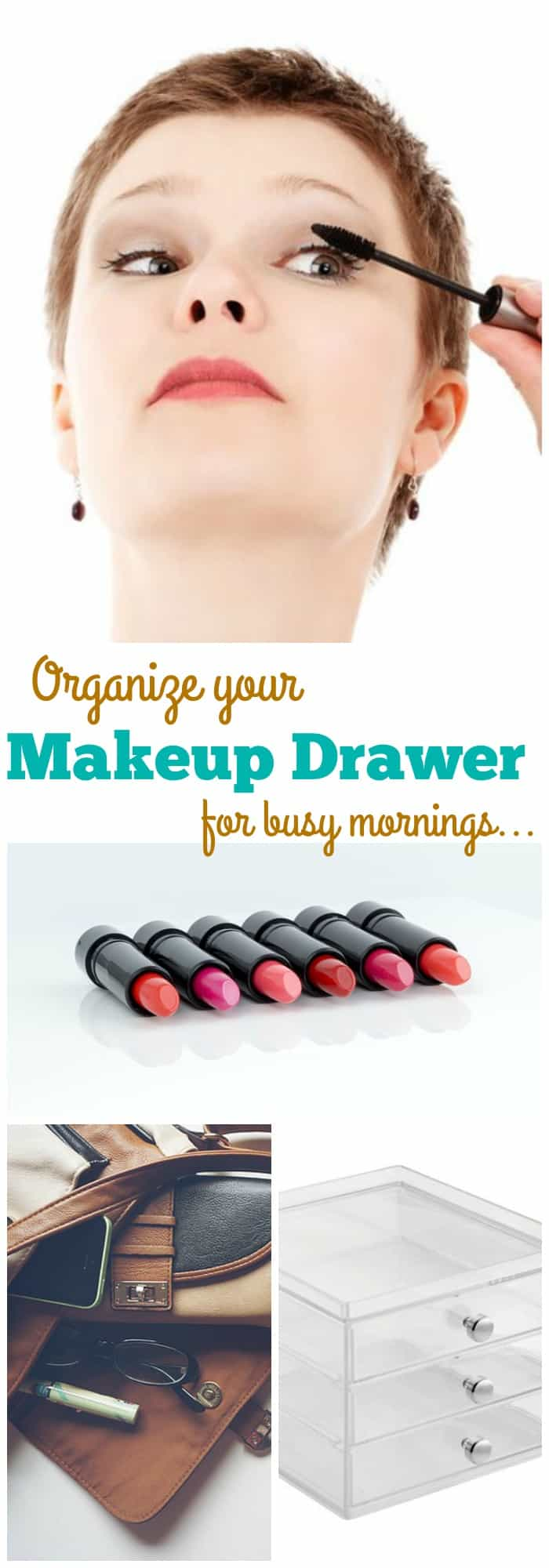 5 Ways to Organize Your Makeup Drawer and Cut Down on Your Morning Routine