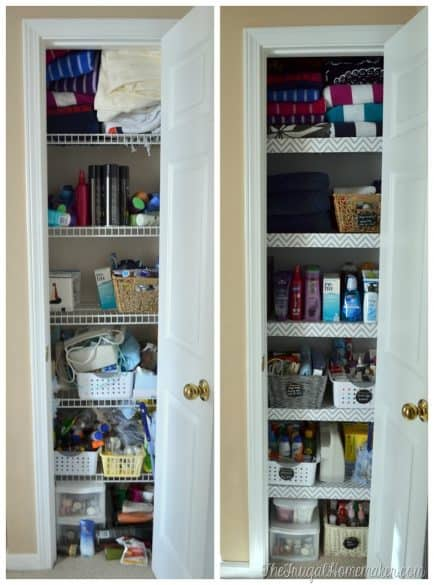 Do You Have Wire Shelving In Your Linen Closet? While That Type Of Shelving  Is Inexpensive And Versatile, It Can Also Be Irritating For Things To Fall  In ...