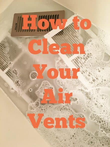 how to clean ac vents in house