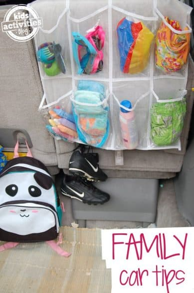 organizational hacks for traveling with kids