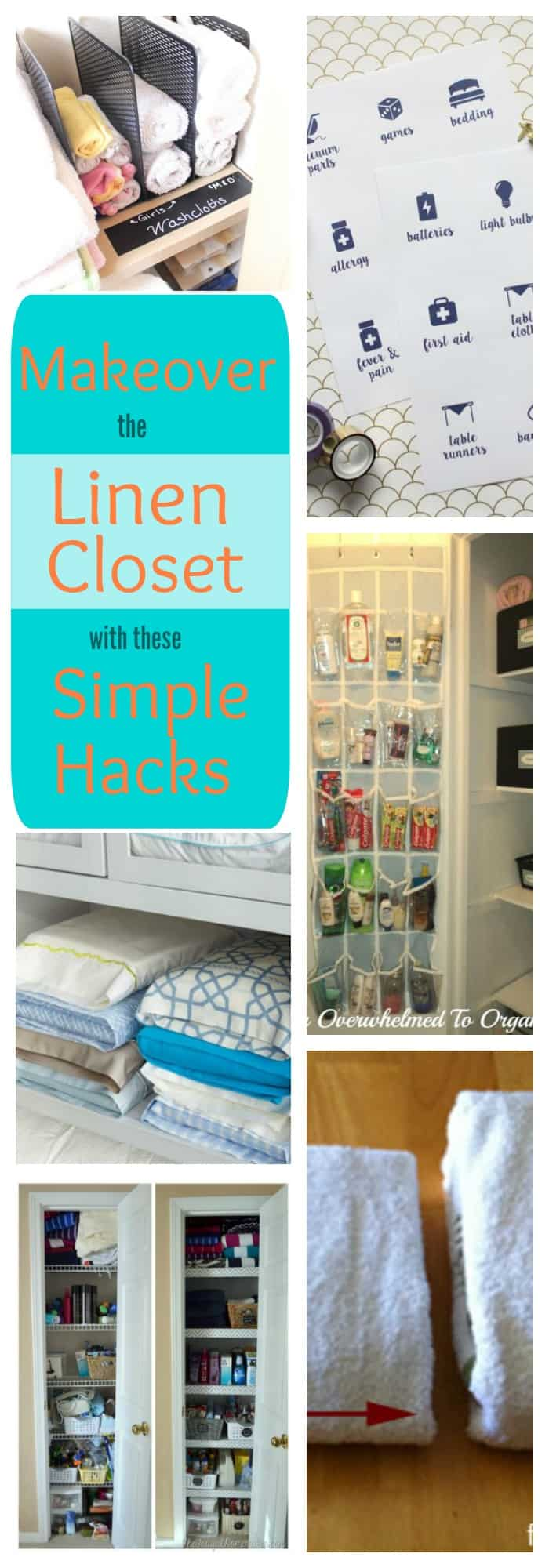 Jump Start Your New Year's Resolution: Make Over Your Linen Closet