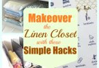 Makeover the linen closet with these simple hacks