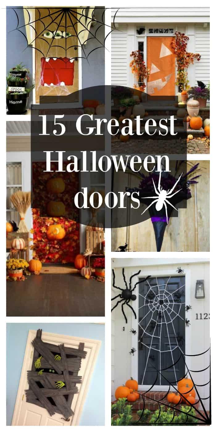 15 of the greatest Halloween doors & Top 15 Halloween Door Decorations - The Organized Mom