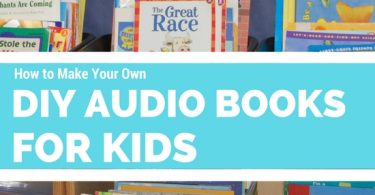 DIY Audio books for kids