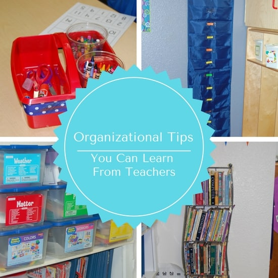 organizational tips you can learn from teachers