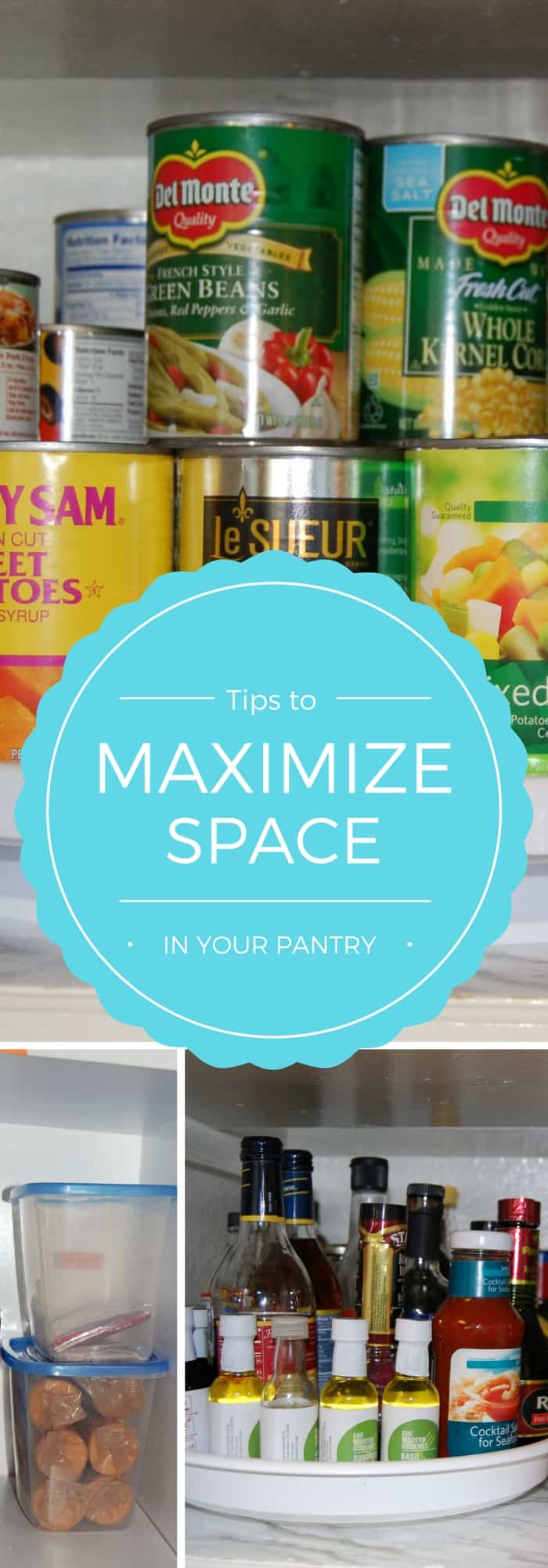 maximize space in your pantry