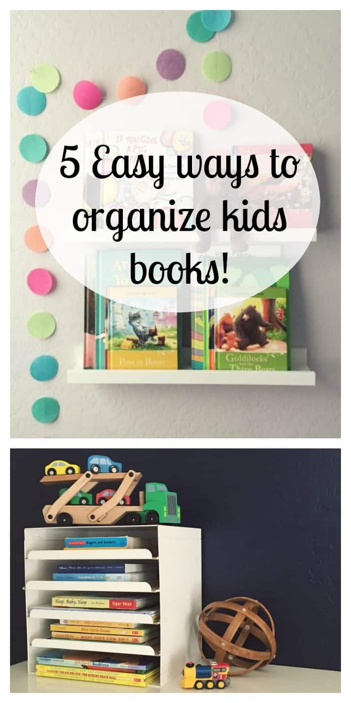 5 Easy Makeup Looks In Under 10 Minutes: 5 Easy And Affordable Ways To Organize Kids Books
