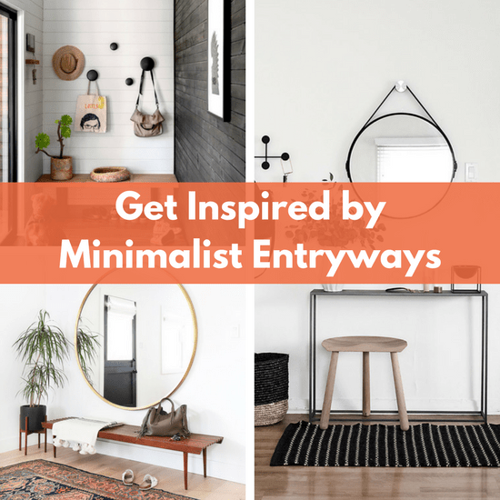 minimalist entryways inspiration- home entry ways