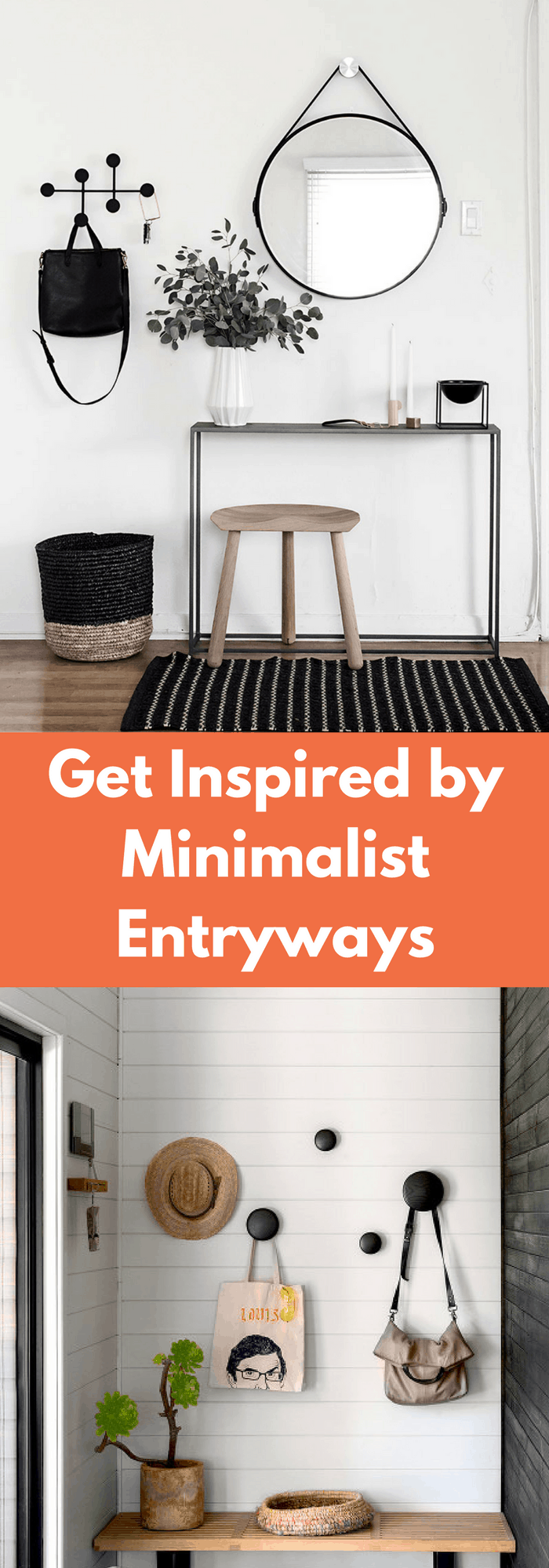 Home decor- MINIMILAST ENTRYWAYS INSPIRATION
