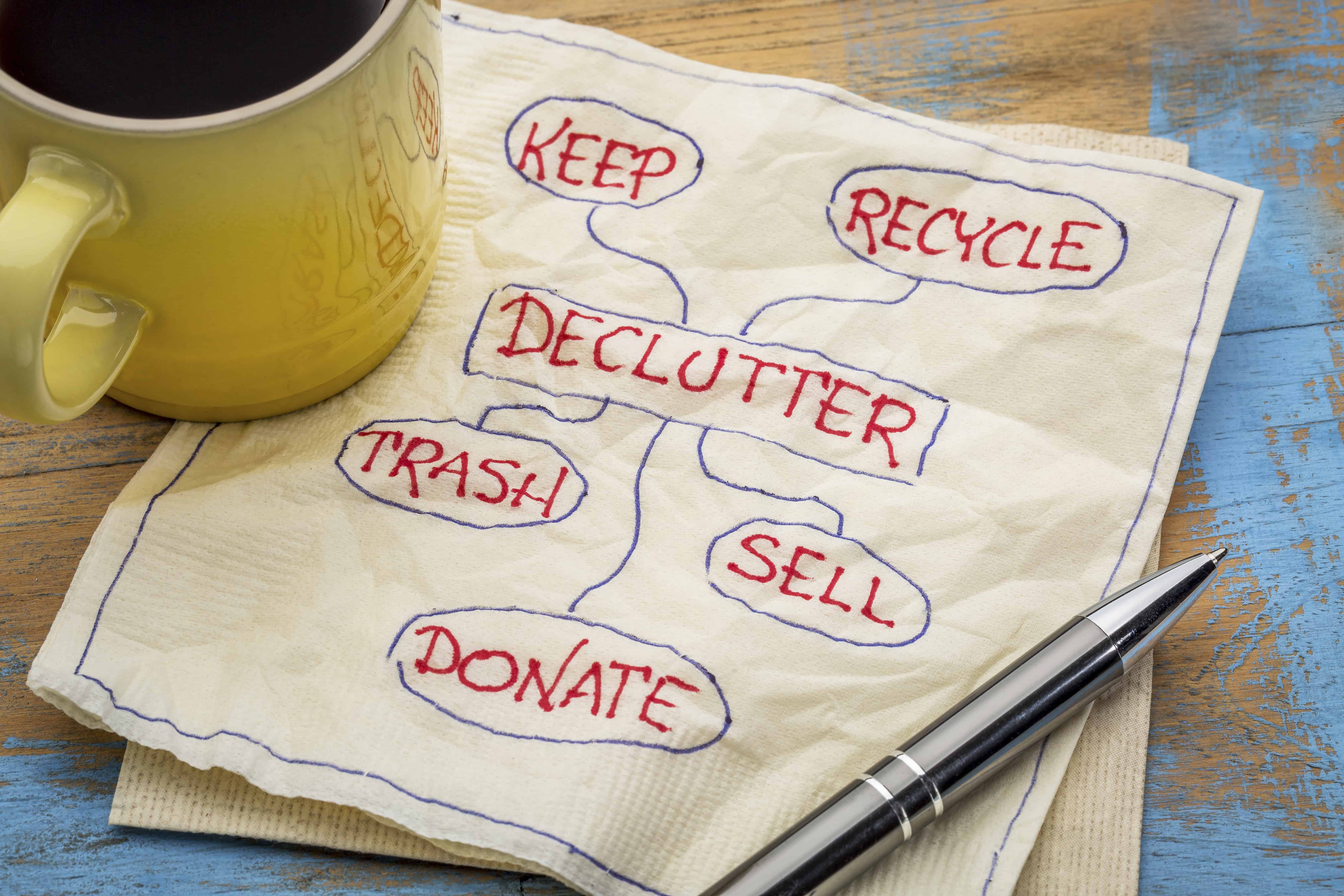 the ultimate declutter checklist that anyone can tackle