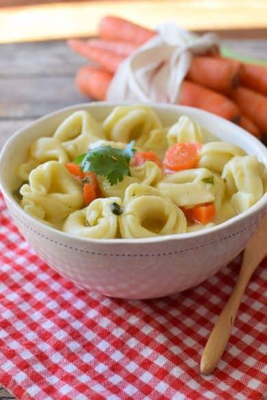20 minute tortellini soup recipe