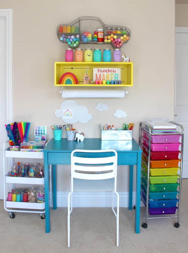 Beautiful Kids Art Centers To Encourage Creativity The