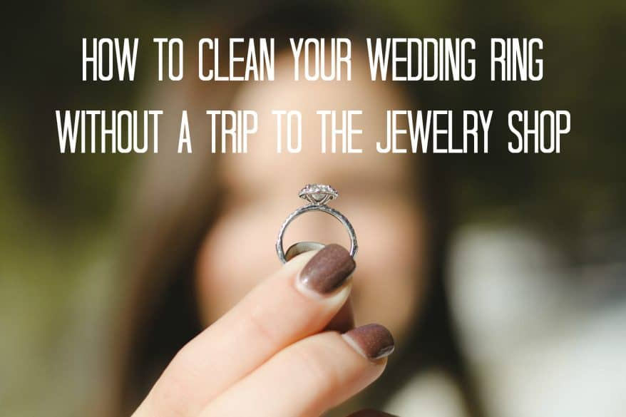 clean ring wedding jewelry