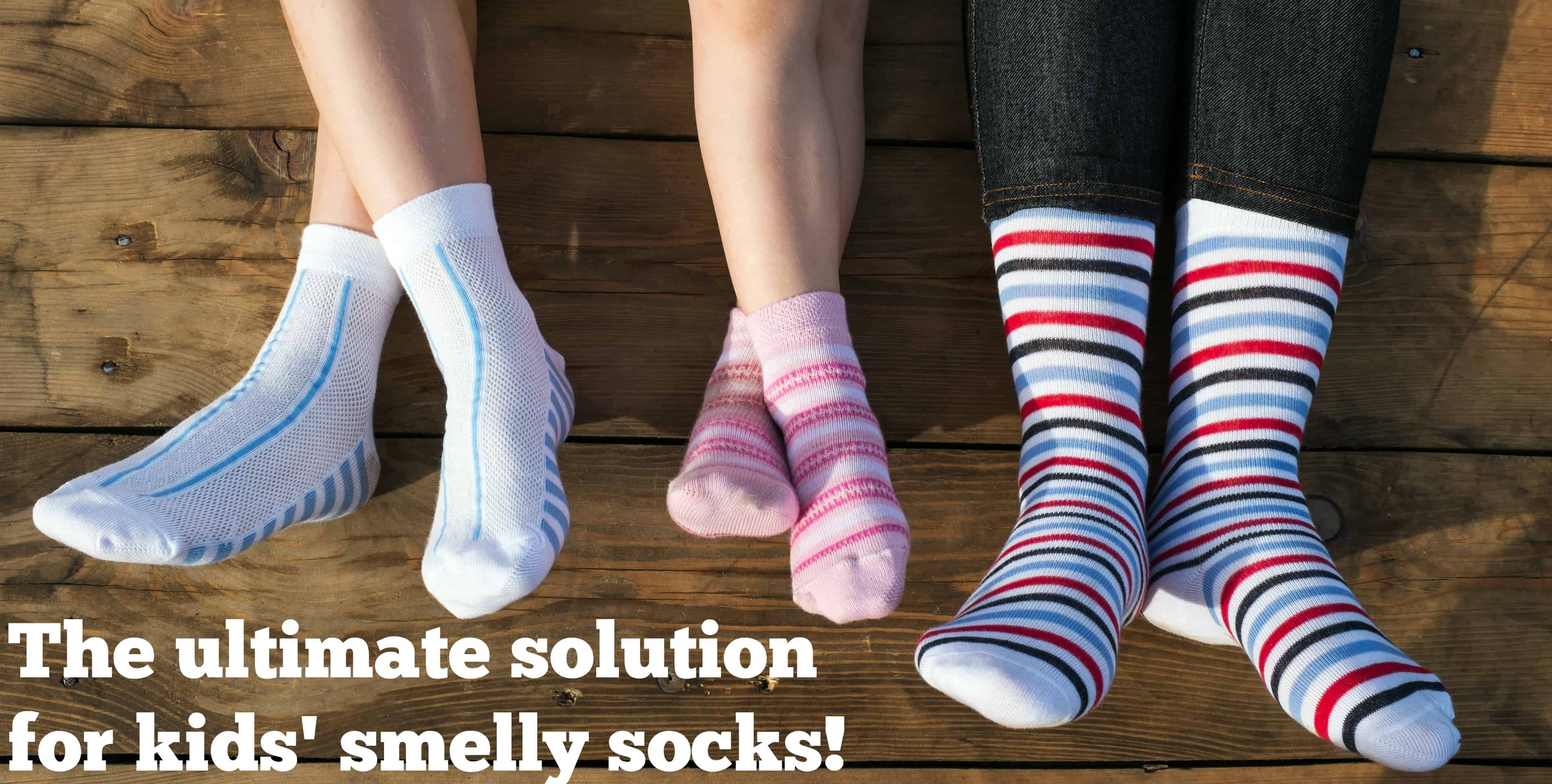 The Ultimate Kids Smelly Sock Solution The Organized Mom
