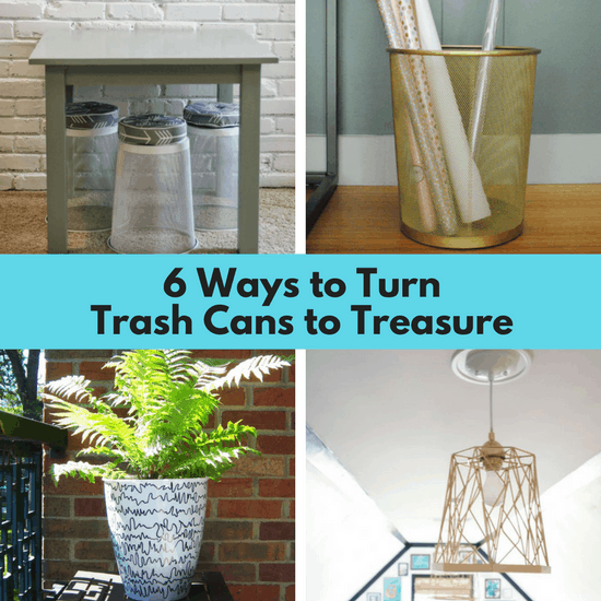 Trash Cans To Treasure 6 Ways To Repurpose A Small Trash