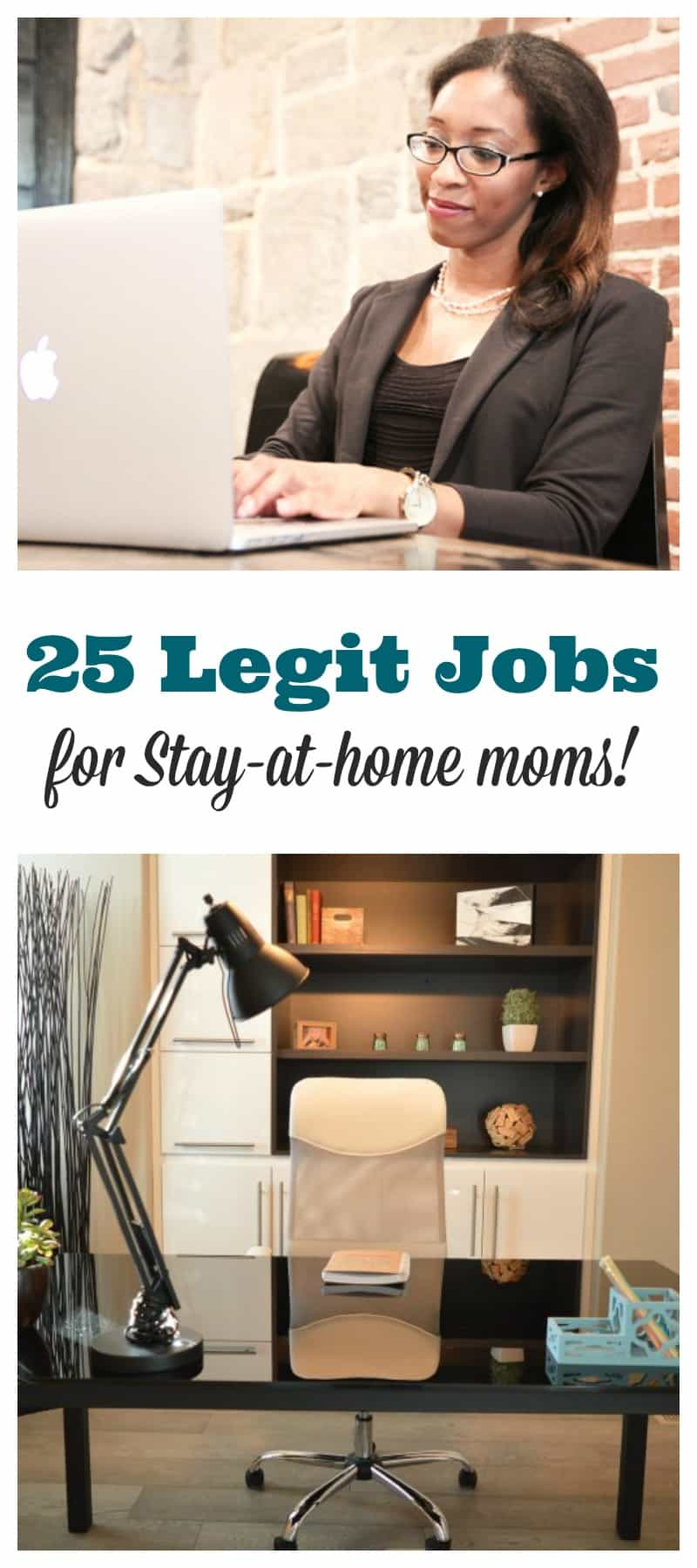 25 legit jobs for a stay at home mom