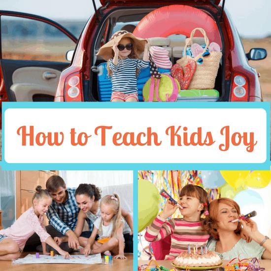teach kids joy