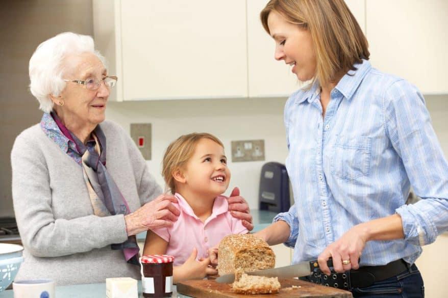 Teach kids respect for elders