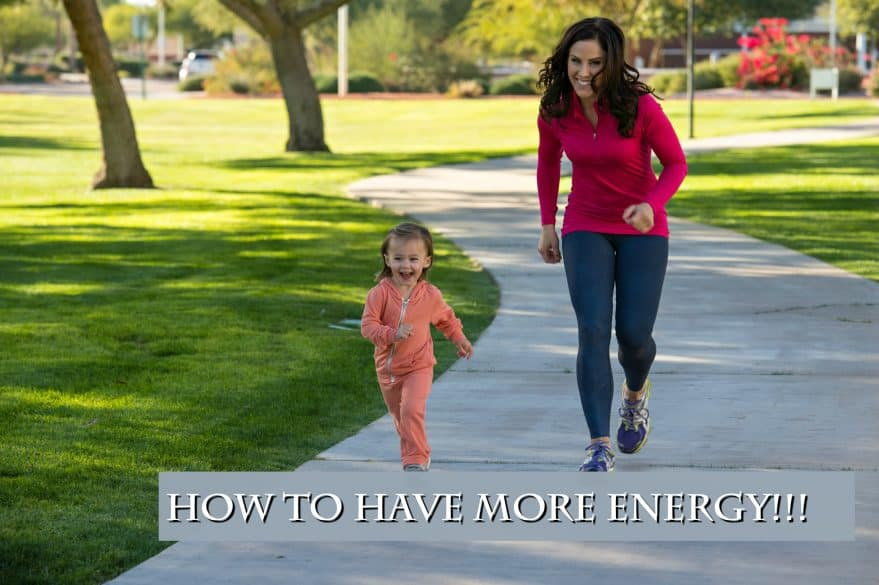 how to have more energy for moms
