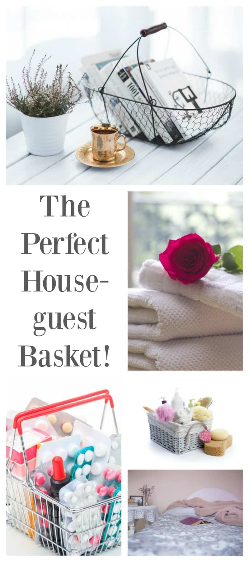 Home- DIY the perfect house guest basket