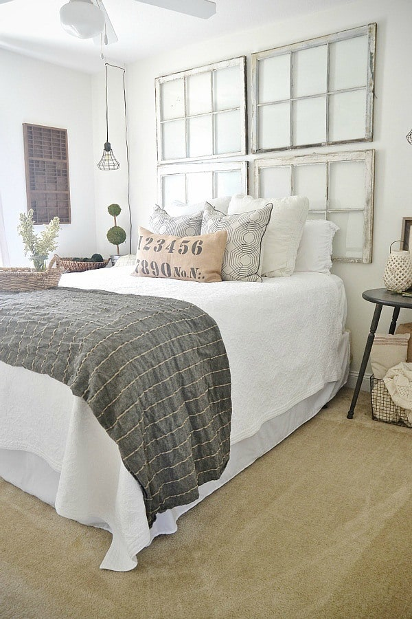 5 ways to decorate above your bed without a headboard - Above the headboard decorating ...
